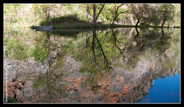Lago del Espejo Monasterio de Piedra