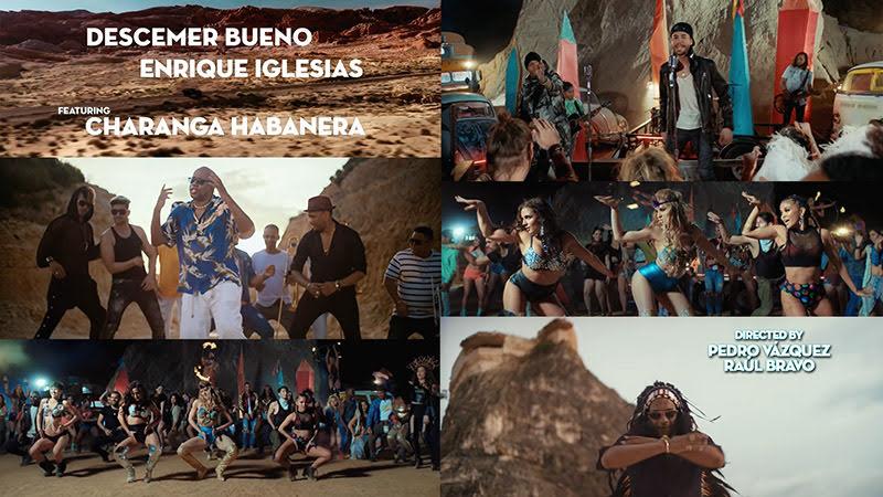 Descemer Bueno & Enrique Iglesias & Charanga Habanera - Nos fuimos lejos - Videoclip - Dirección: Pedro Vázquez - Raúl Bravo. Portal Del Vídeo Clip Cubano