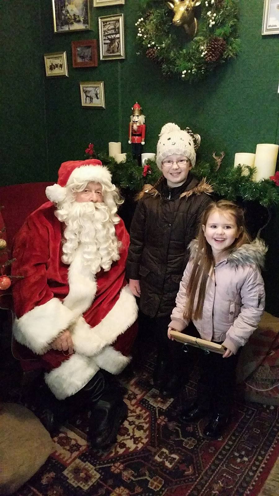 Preston Park Museum & Grounds | Christmas Bazaar and visiting Santa 2016 - Santa's Grotto