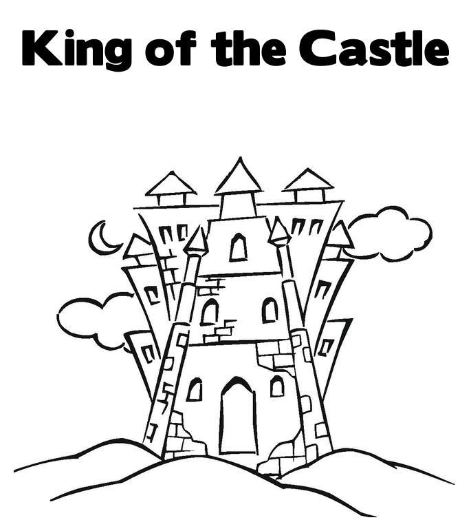 Castle Coloring Pages: Cartoon Design: Disney Princess Castle Coloring Pages To Kids