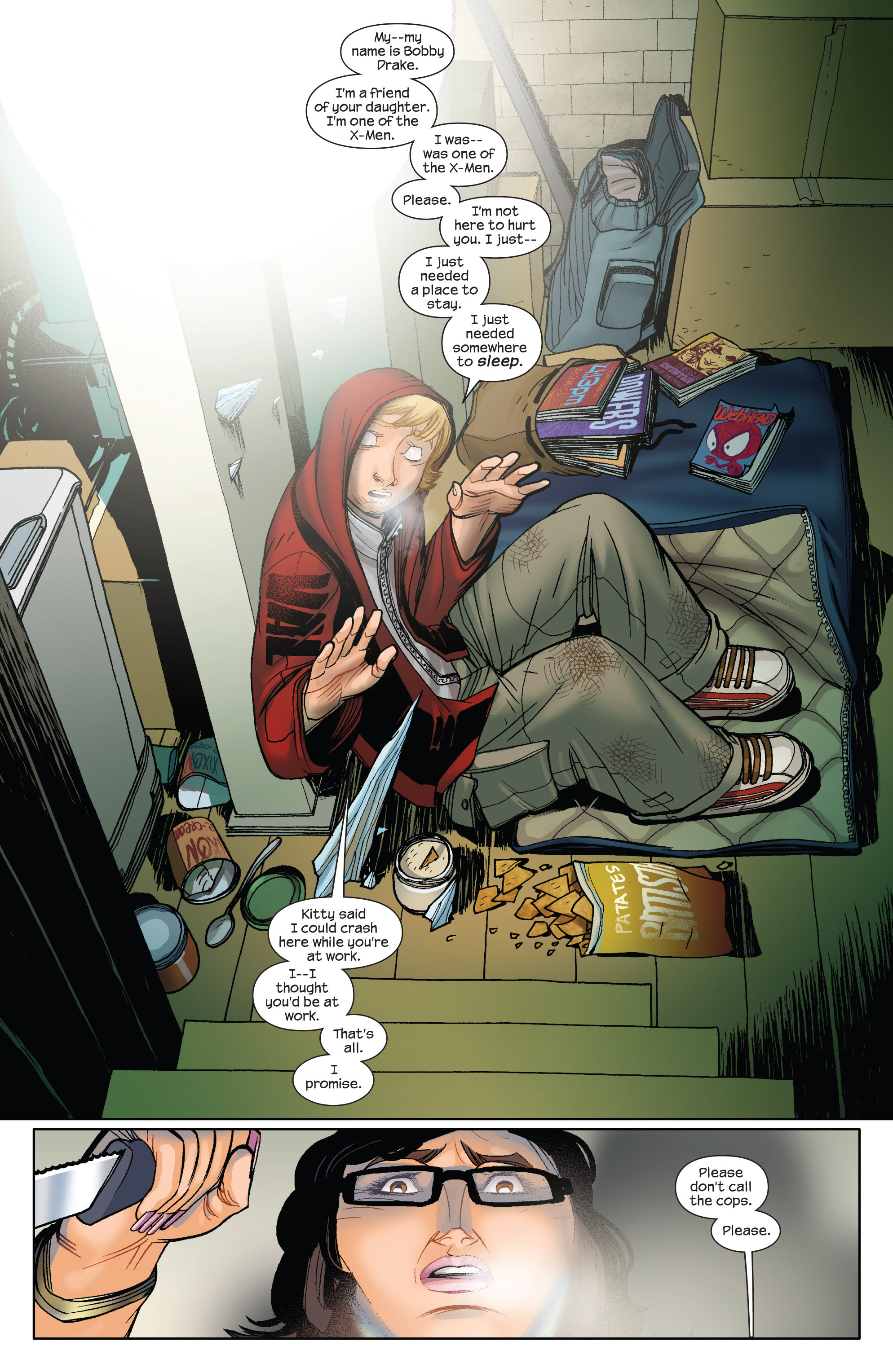 Read online Ultimate Spider-Man (2009) comic -  Issue #5 - 4