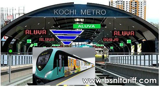 BSNL Free WiFi services to Kochi Metro passengers