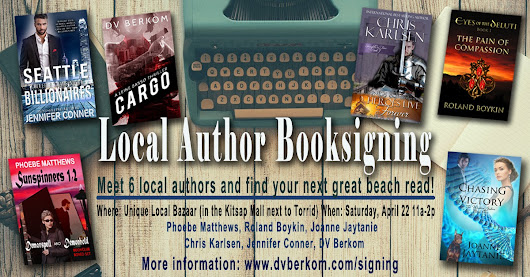 April Book Signings ~ Meet and Greets