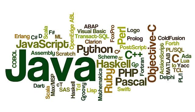 top 5 programming languages 2018