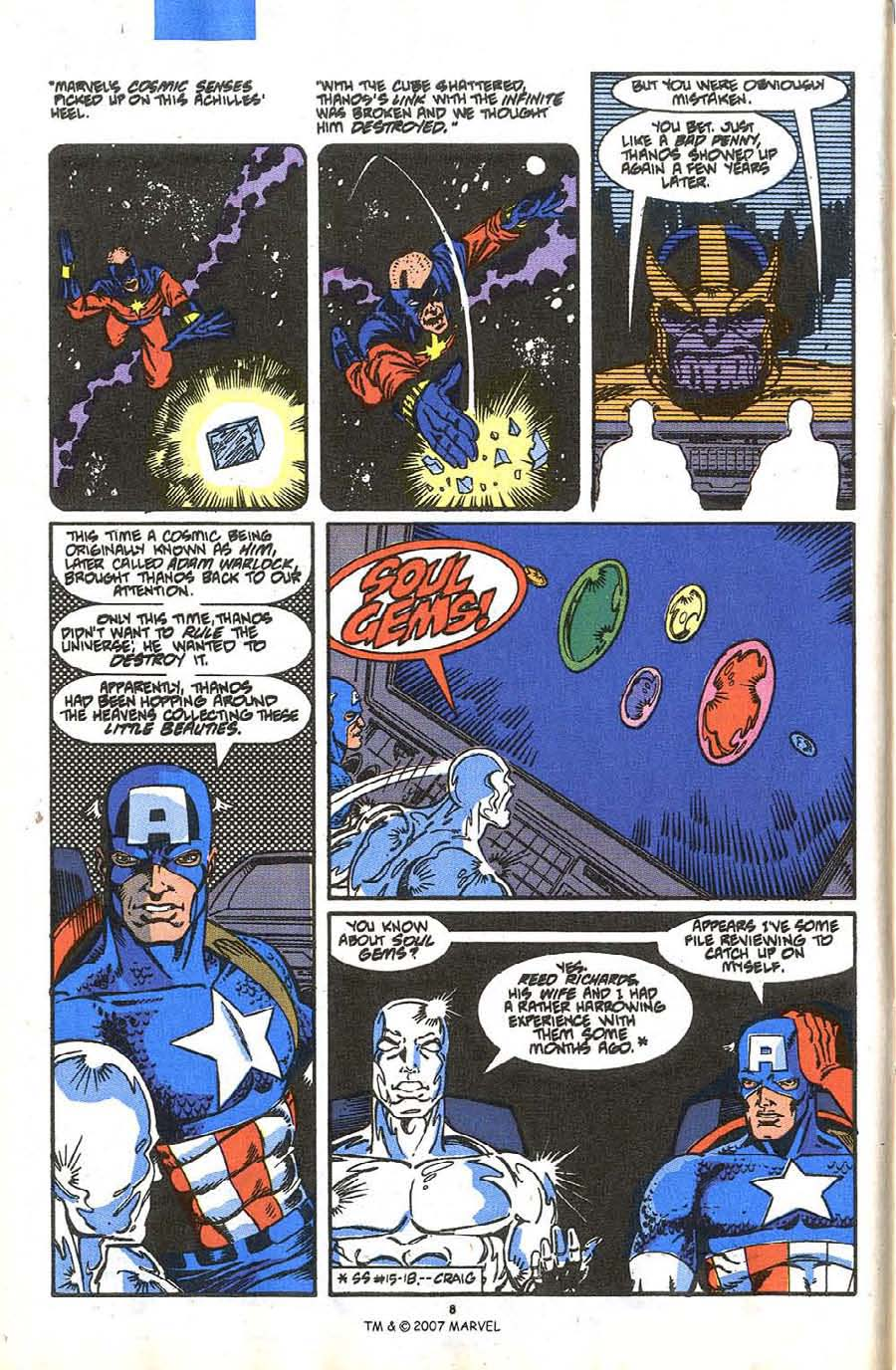 Read online Silver Surfer (1987) comic -  Issue #36 - 10