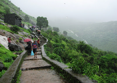 Stair to Bhaja caves