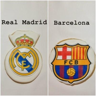 María El Clásico Real Madrid Barcelona En Galletas