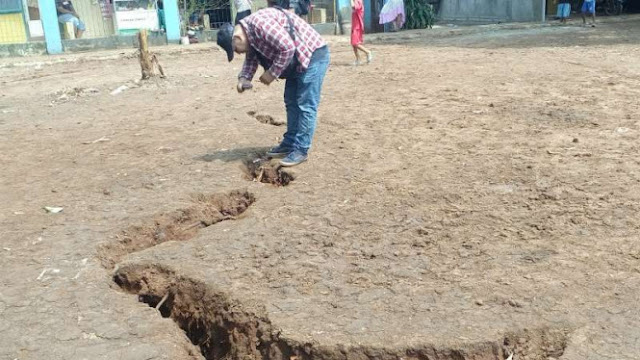 Setelah Tanah Bergerak, Kini Ada Tanah 'Bernapas' yang Mirip Gempa