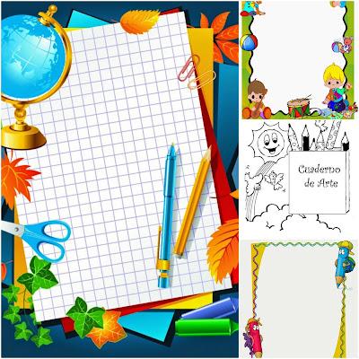 caratulas cuadernos