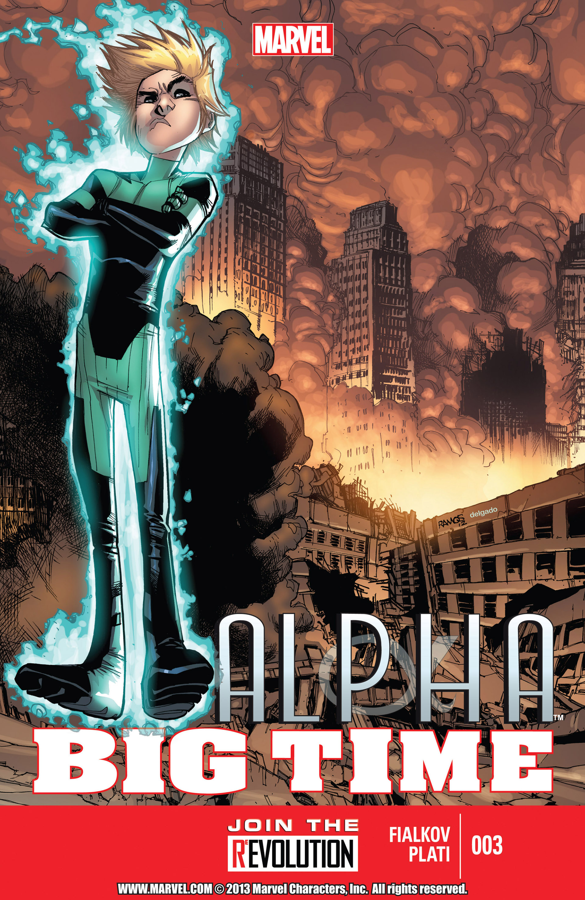 Read online Alpha - Big Time comic -  Issue #3 - 1