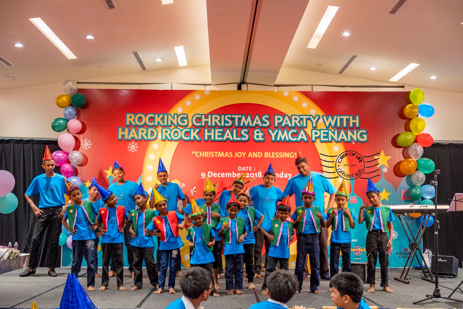 Rocking christmas Party with Hard Rock Heals & YMCA Penang