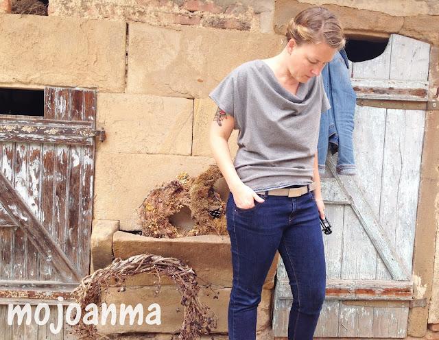 alter stall, konfetti patterns, jeansjacke,