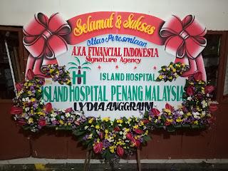 bunga papan island penang malaysia