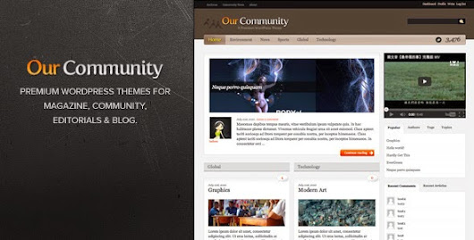 Themeforest TF Our Community - Wordpress Themes