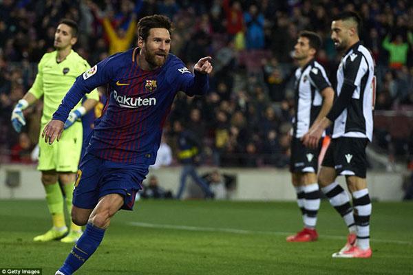 Barca đại thắng: Messi cán mốc lịch sử, thăng hoa rực rỡ 2