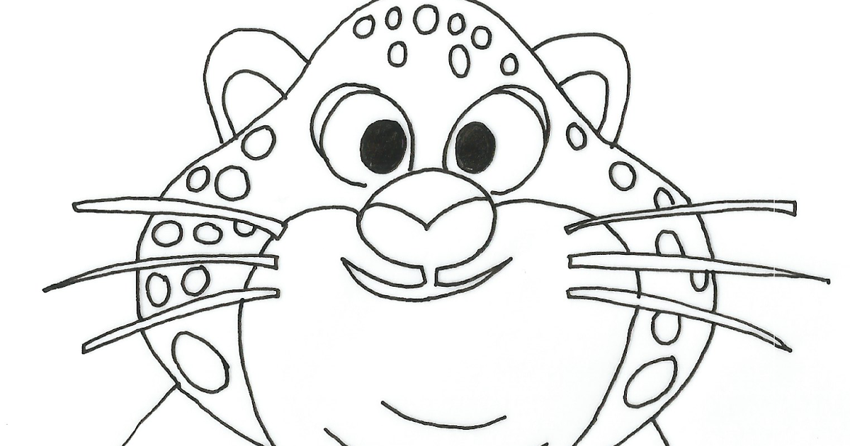 Printable Coloring Pages Zootopia Free Clawhauser