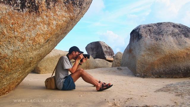 Pantai Batu Perahu Toboali Bangka Selatan