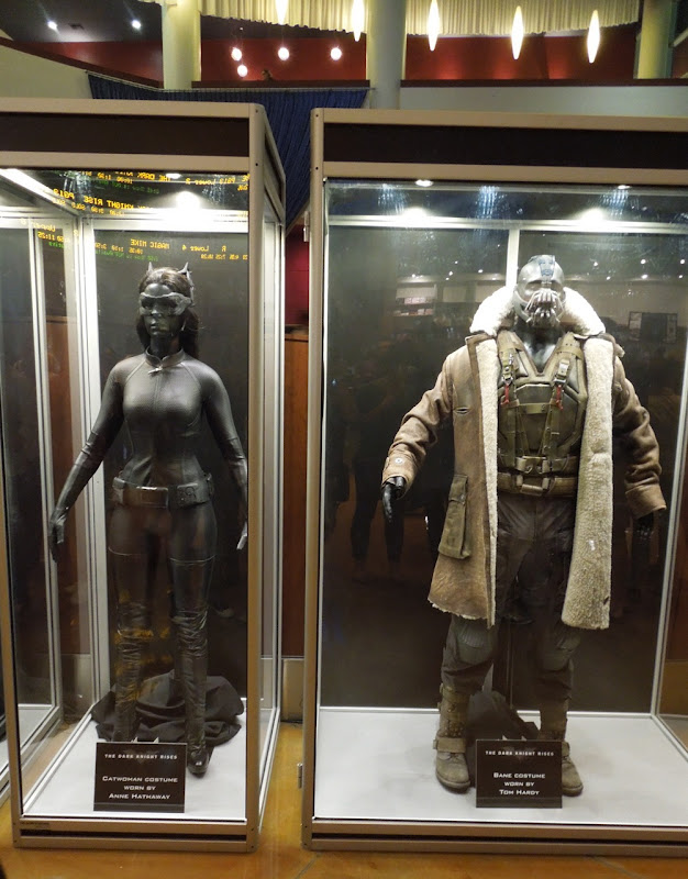 Catwoman and Bane Dark Knight Rises costumes