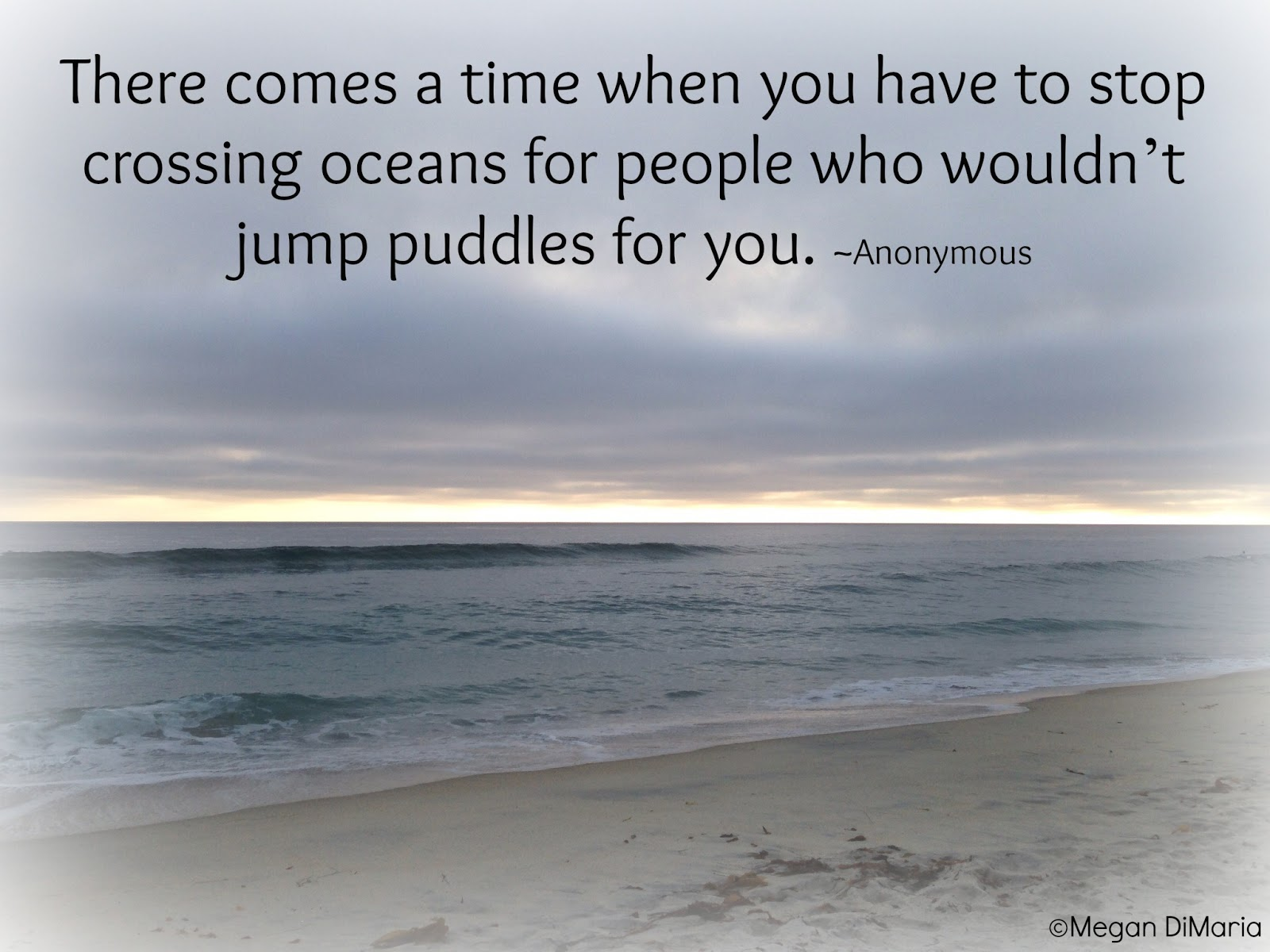 stop crossing oceans for people