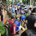 Jovem é atingida por galho e fica desacordada no centro de Londrina