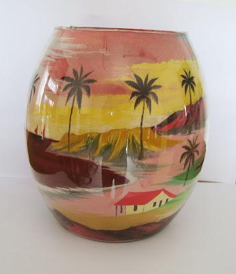 Vaso decorativo com areia colorida - Fortaleza - CE