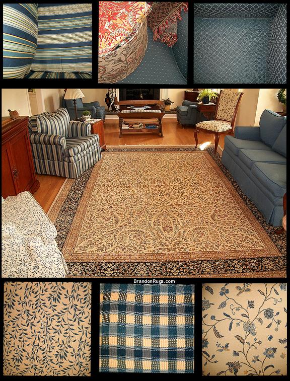 Brandon Oriental Rugs: Handmade Living Room Rug From ...