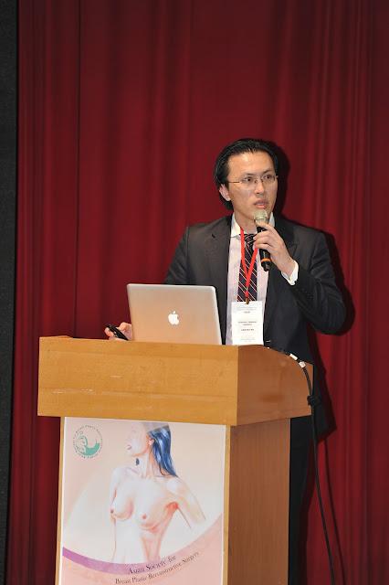 吳醫師於亞洲乳房整形重建學會(ASBPRS Instructional Course)演講