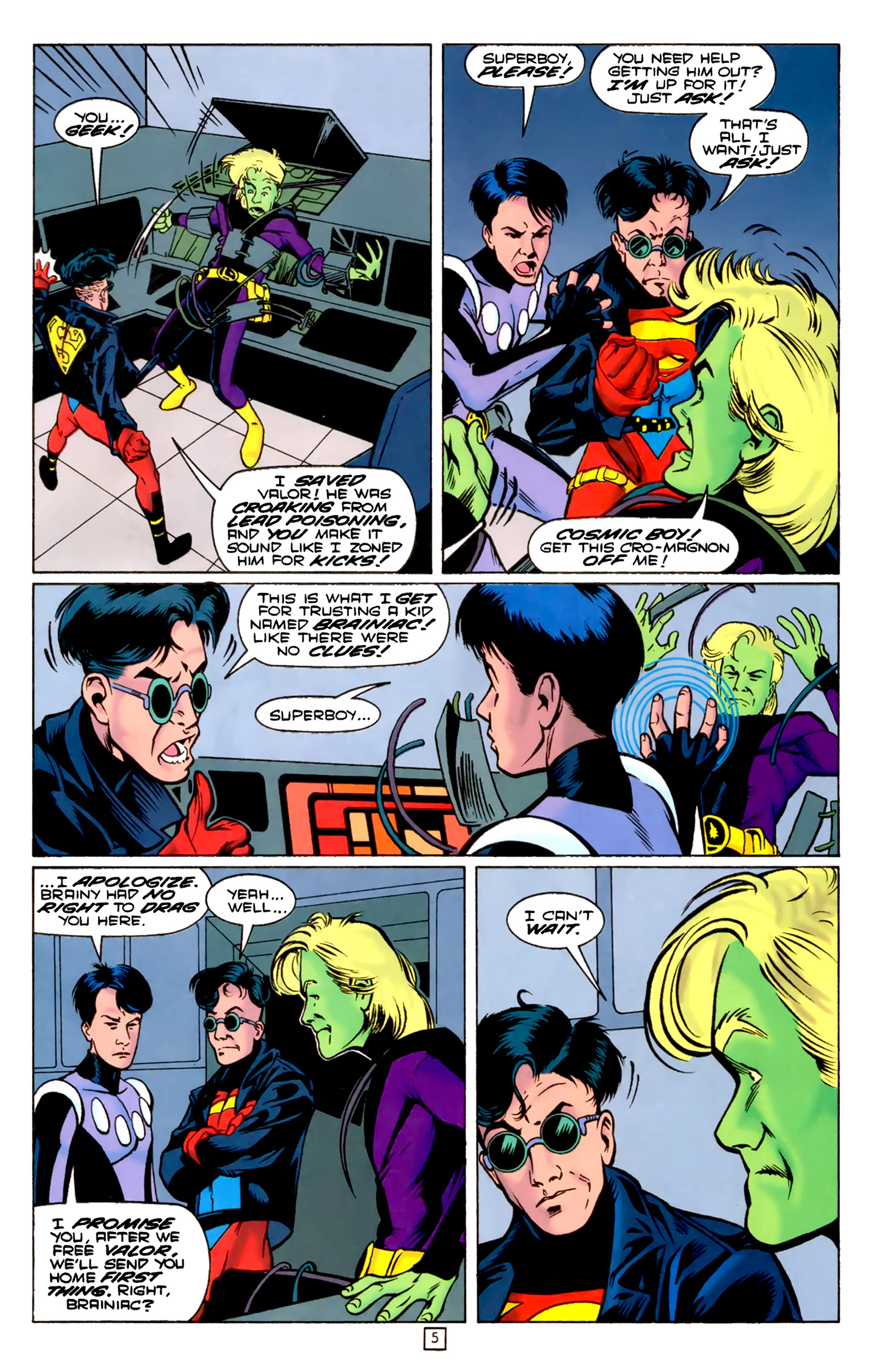Legion of Super-Heroes (1989) 74 Page 5