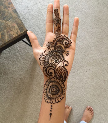 c45143de1484f 125 Stunning Yet Simple Mehndi Designs For Beginners|| Easy And ...