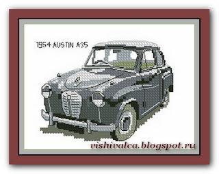 "Heritage Crafts Серия: Companions ""1954 AUSTIN A35"""