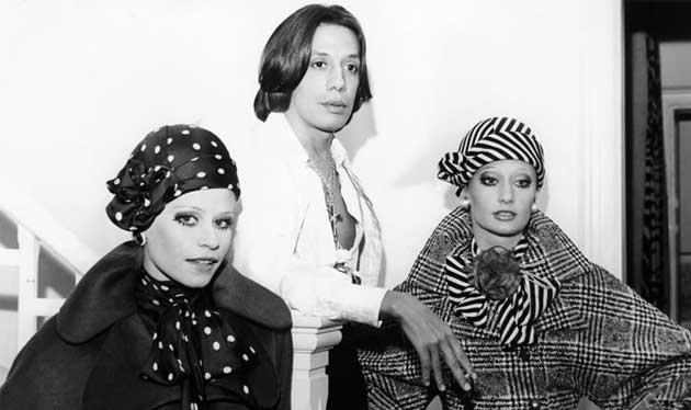 Clodovil e modelos anos 70