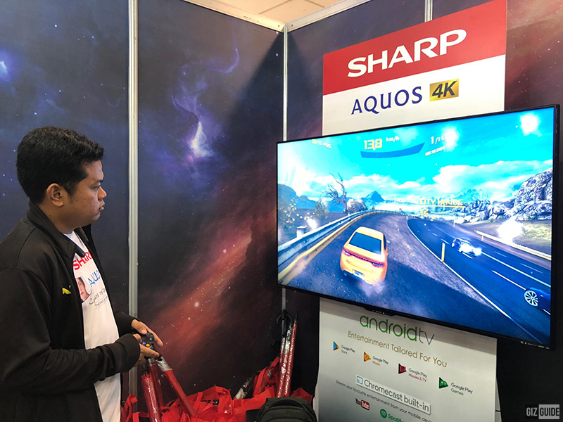 Immersive gaming experience with Sharp AQUOS TV