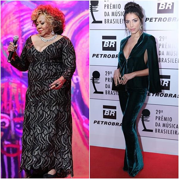 Os looks do Prêmio da Música Brasileira