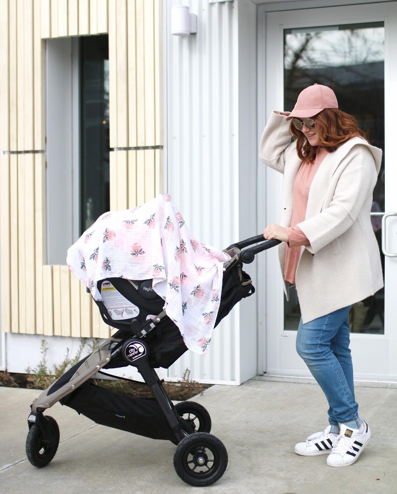 city mini baby jogger, mom life, mabo kids in slc