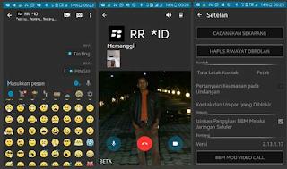 BBM Mod Dark Mini 2.13.1.13 Apk Size Kecil + VC