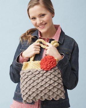 Patron Crochet Bolso de Escamas