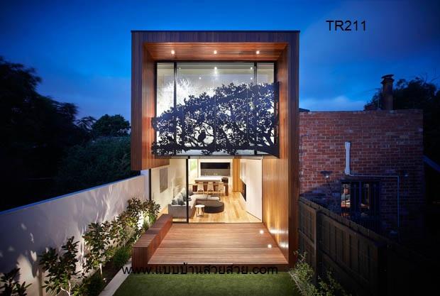 แบบบ้านสวย  บ้าน2 ชั้น TR210