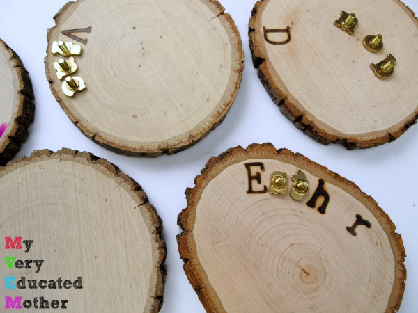 Personalized Wood Burning Ornaments