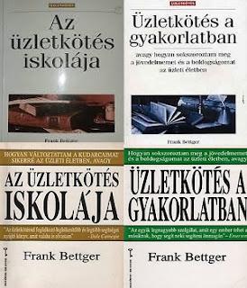 Frank Bettger üzletkötés könyvek, életrajz