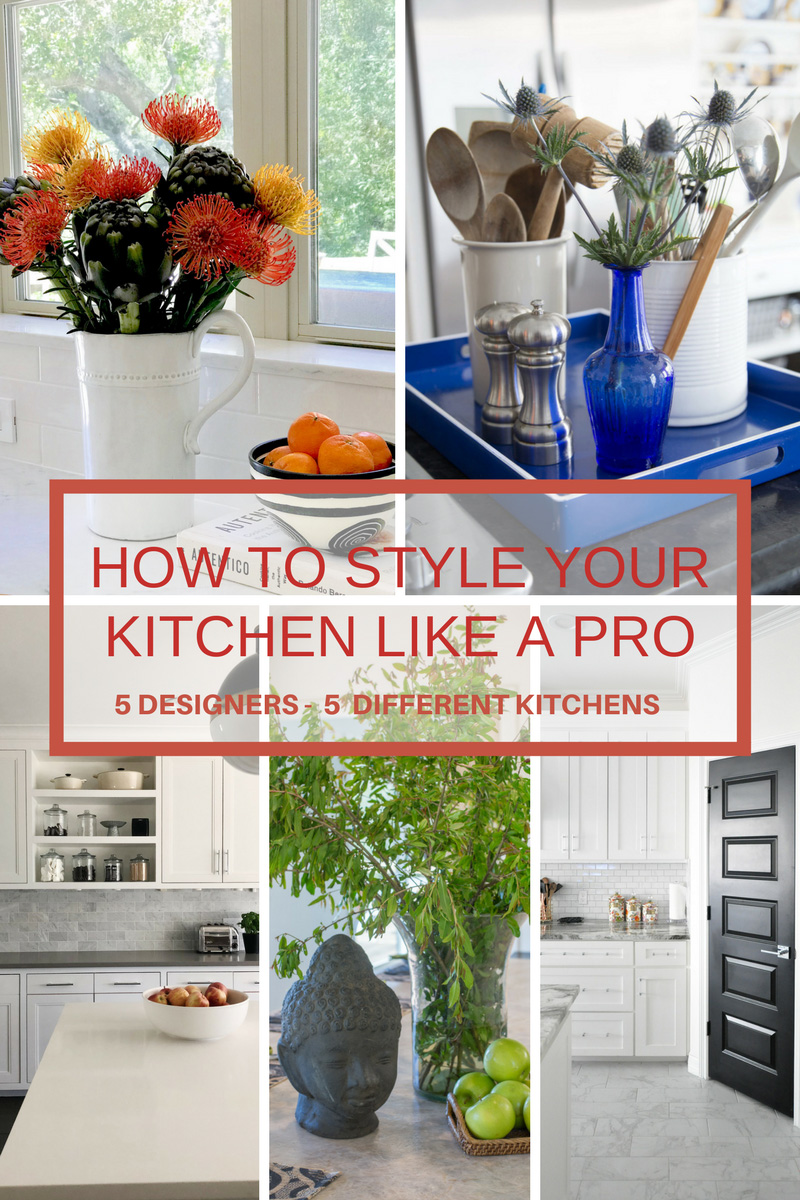 How to style your kitchen like a pro!