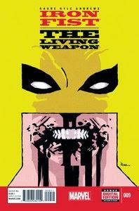 Iron Fist - The Living Weapon 009 CBR