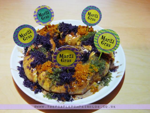 Mardi Gras King Cake | The Purple Pumpkin Blog