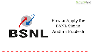 How to Apply for BSNL Sim in Andhra Pradesh