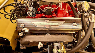 1955 Ford Thunderbird Convertible Engine 02