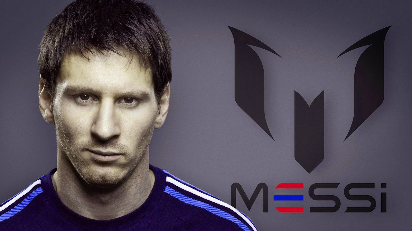 Messi wide wallpaper