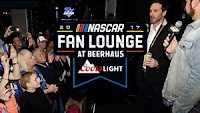 #NASCAR Fan Lounge at Beerhaus Presented by Coors Light