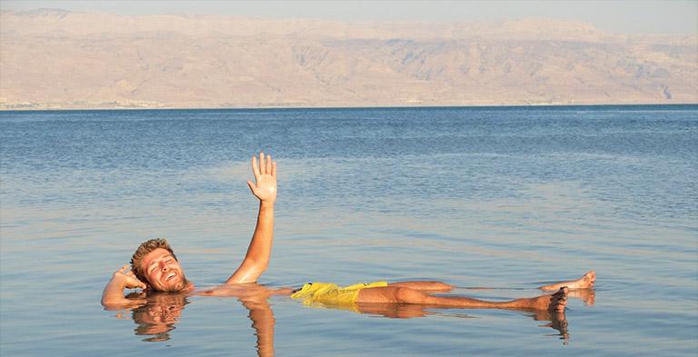 The Dead Sea Natural Attraction