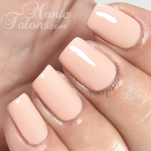 Madam Glam Gel Polish Never Too Late Swatch