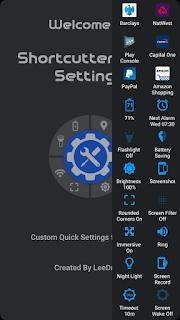 Shortcutter Quick Settings apk