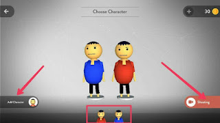 Add mjo characters for shoot video